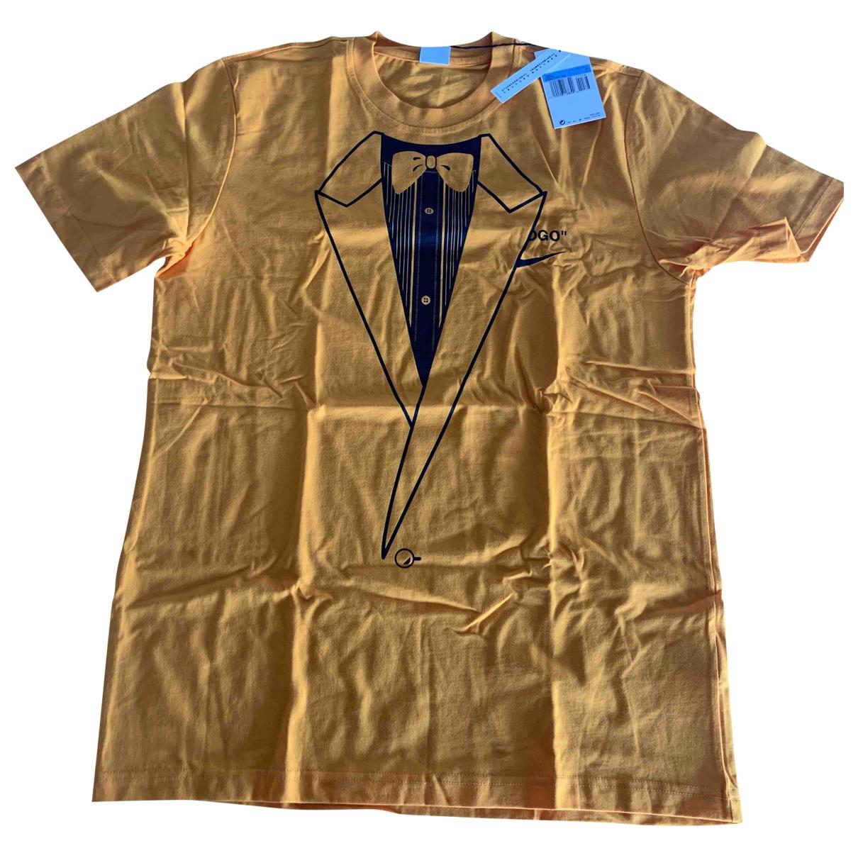 Nike X Off-white \N Orange Cotton T-shirts for Men M International
