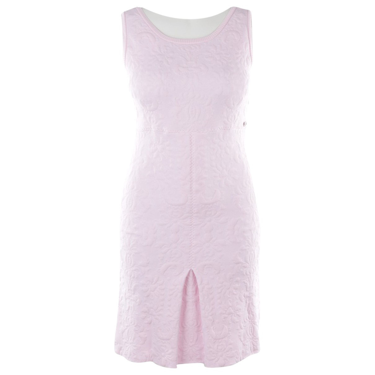 Chanel - Robe   pour femme - rose