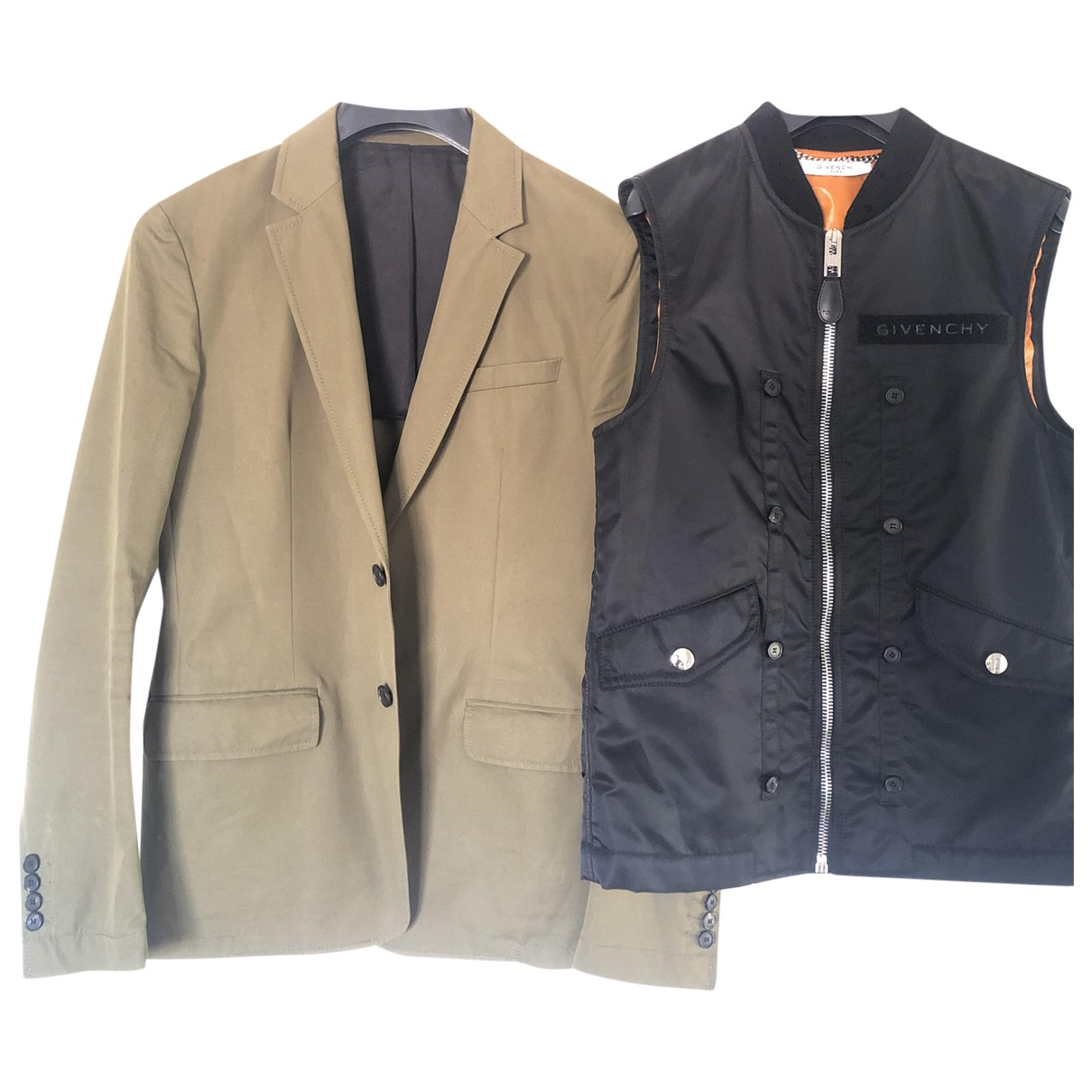 Givenchy \N Jacke in  Schwarz Baumwolle