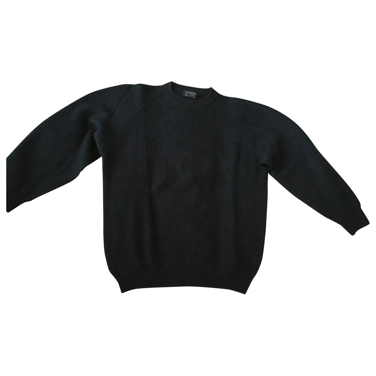 Non Signé / Unsigned \N Anthracite Cashmere Knitwear & Sweatshirts for Men XL International