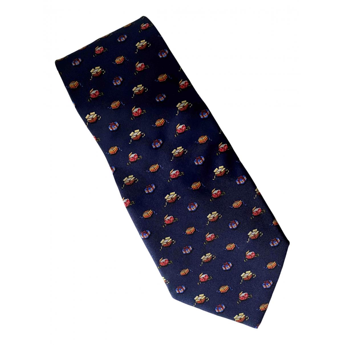 Salvatore Ferragamo - Cravates   pour homme en soie - anthracite