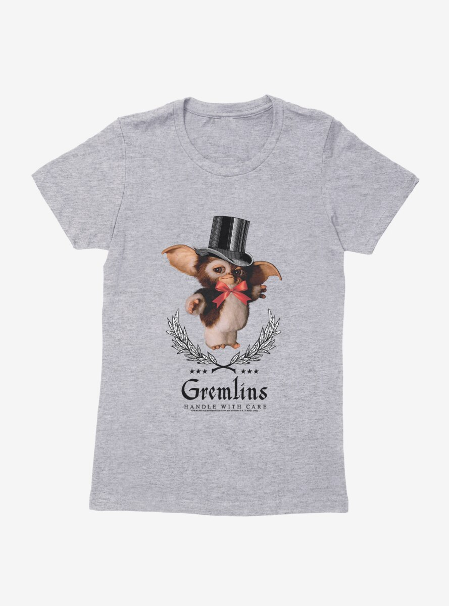 Gremlins Gizmo Handle With Care Womens T-Shirt