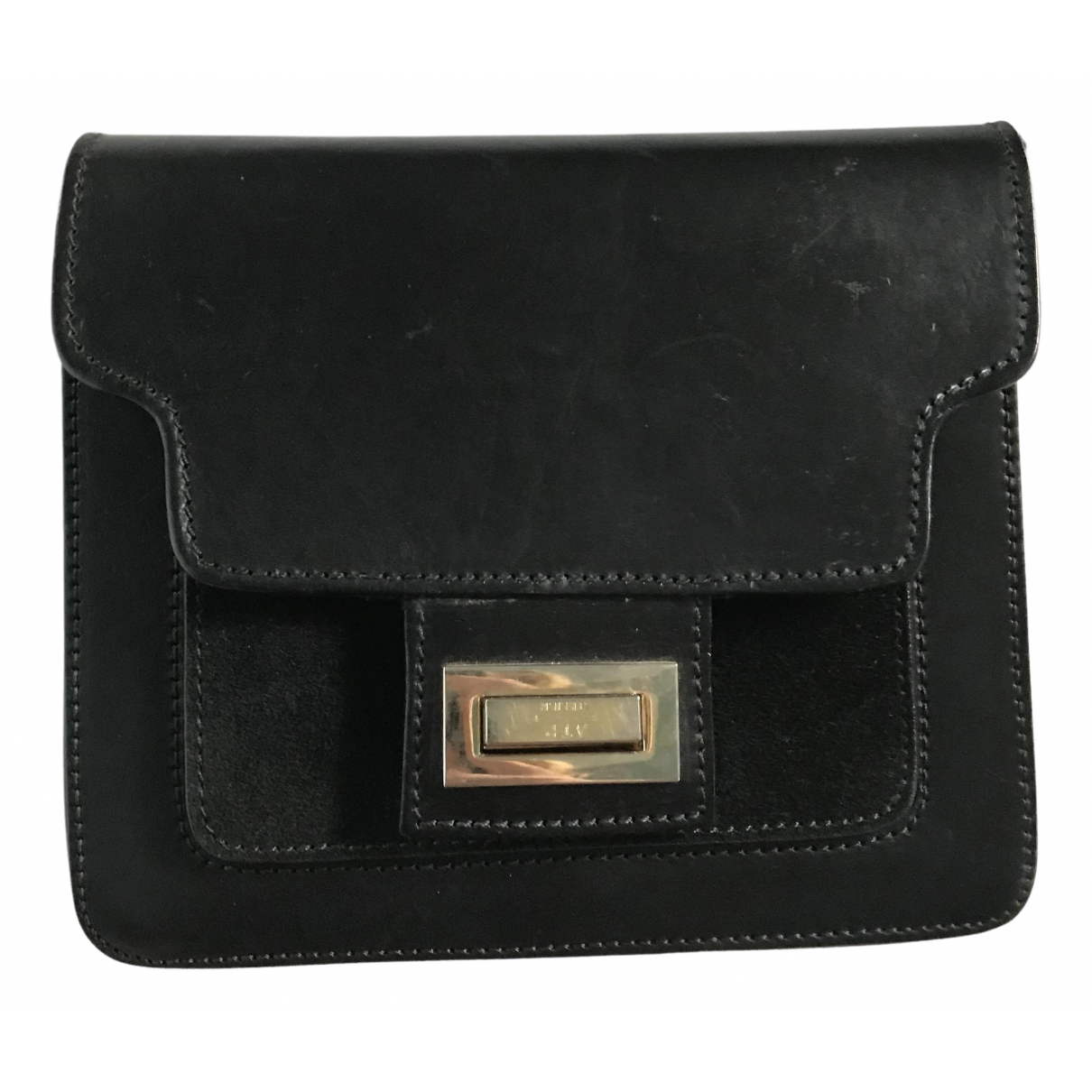 Atp Atelier \N Black Leather handbag for Women \N
