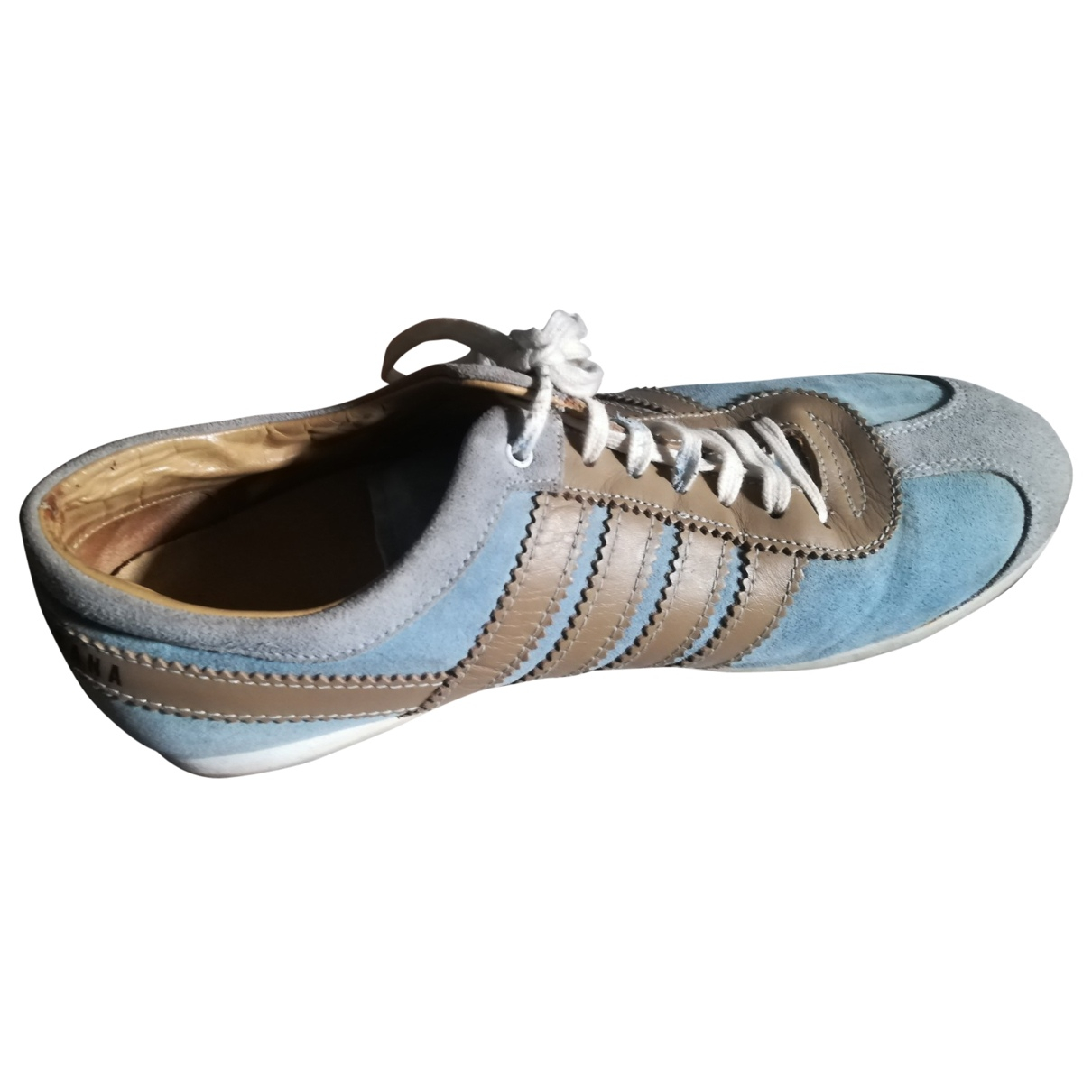 Dolce & Gabbana \N Blue Leather Trainers for Women 40 EU