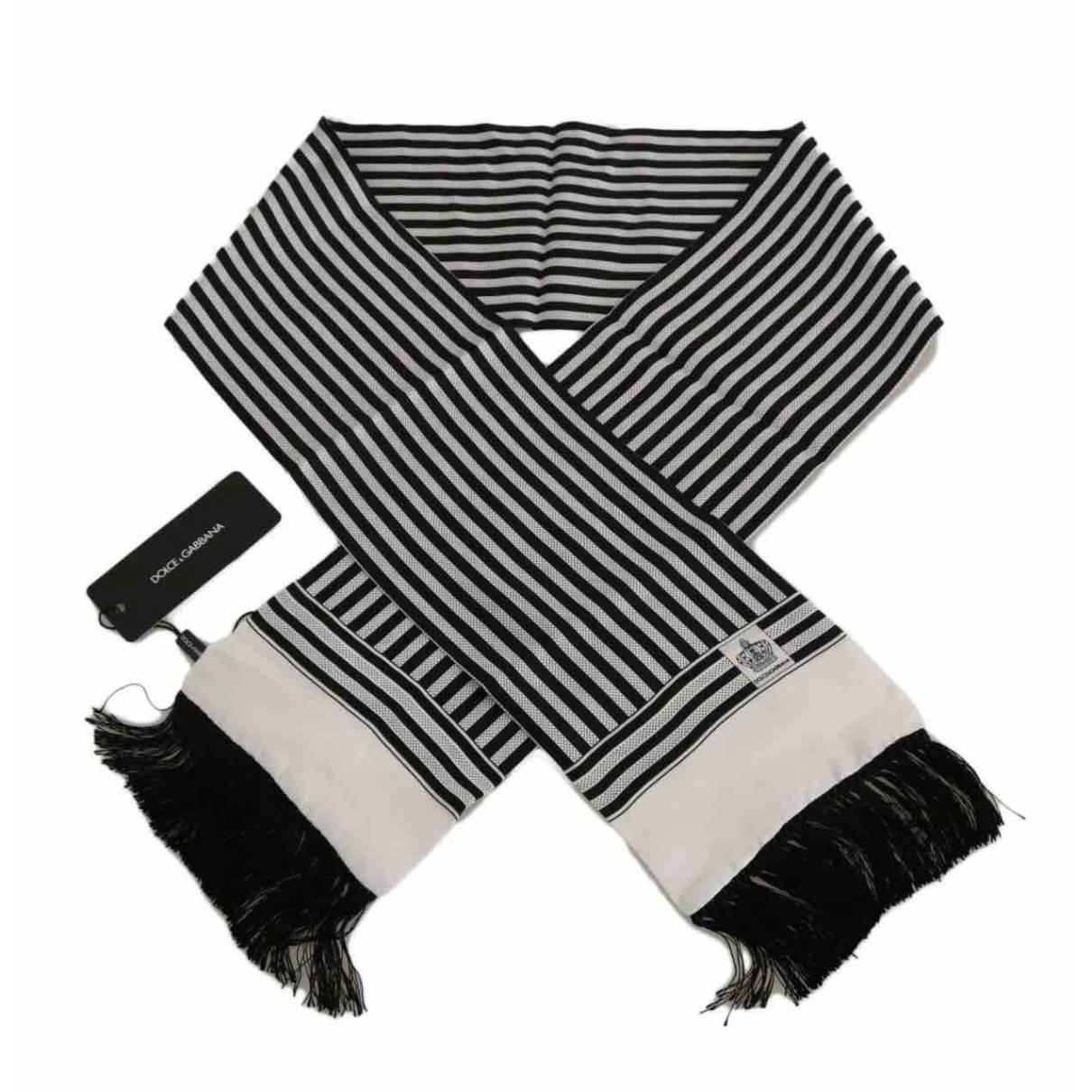 Dolce & Gabbana - Cheches.Echarpes   pour homme en soie - noir