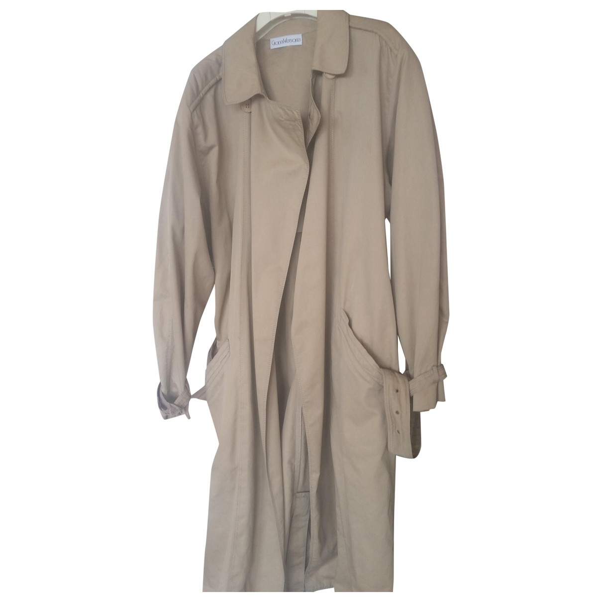 Versace \N Beige Cotton coat  for Men 48 IT