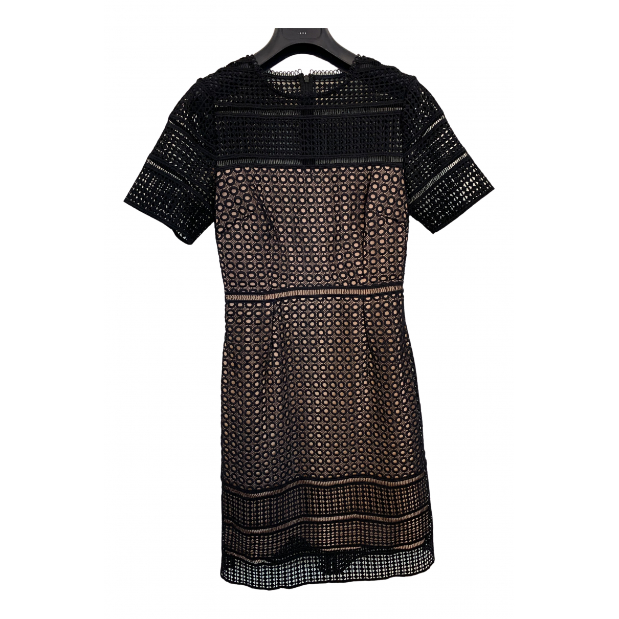 Hobbs \N Kleid in  Blau Polyester