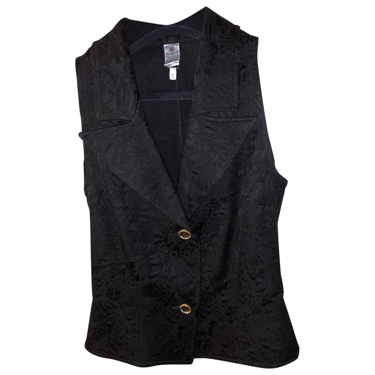 Emanuel Ungaro \N Black Cotton  top for Women 42 IT