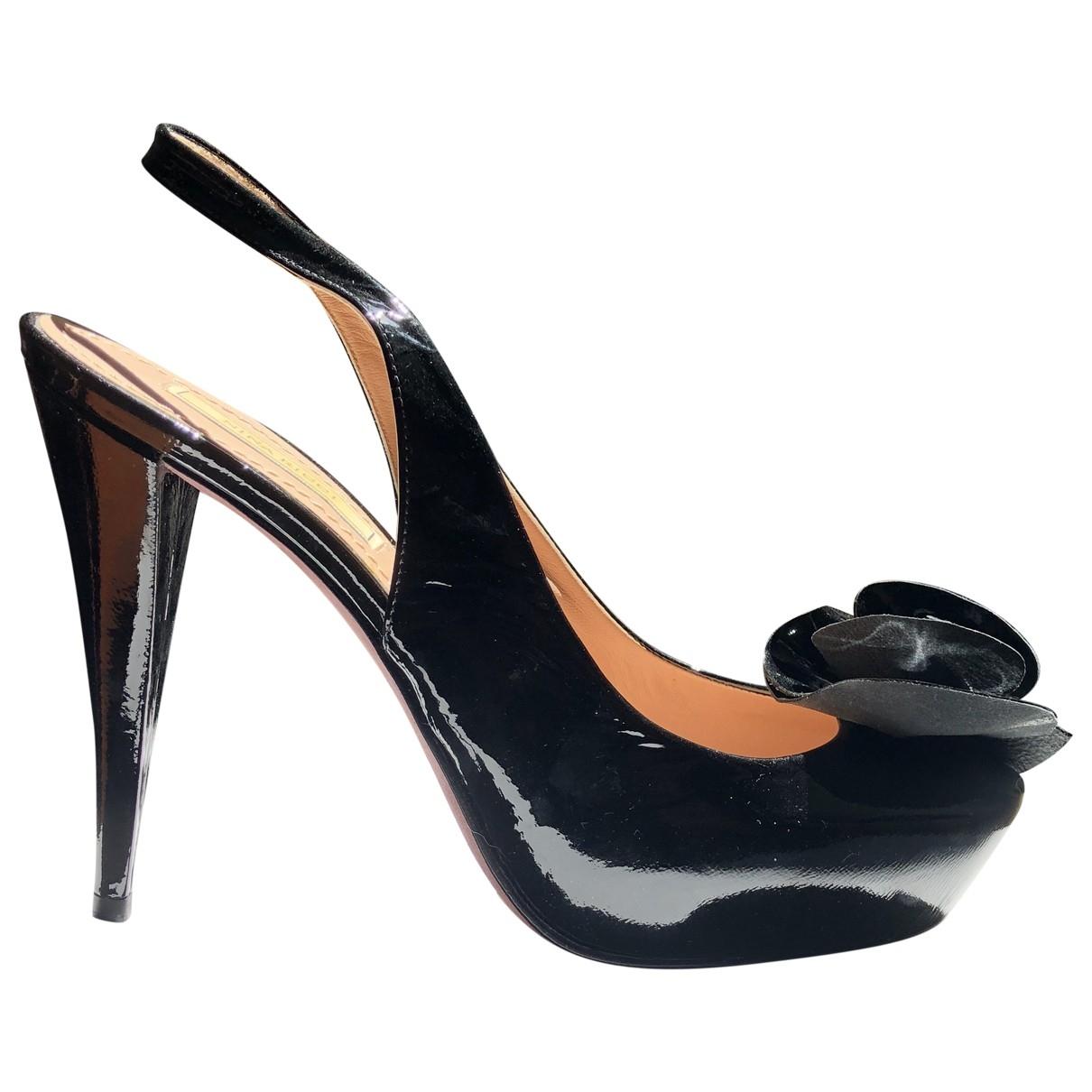 Nina Ricci \N Black Patent leather Heels for Women 39 EU