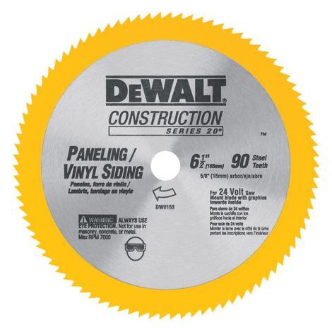 DeWalt 6-1/2-in Vinyl Cutting Blade