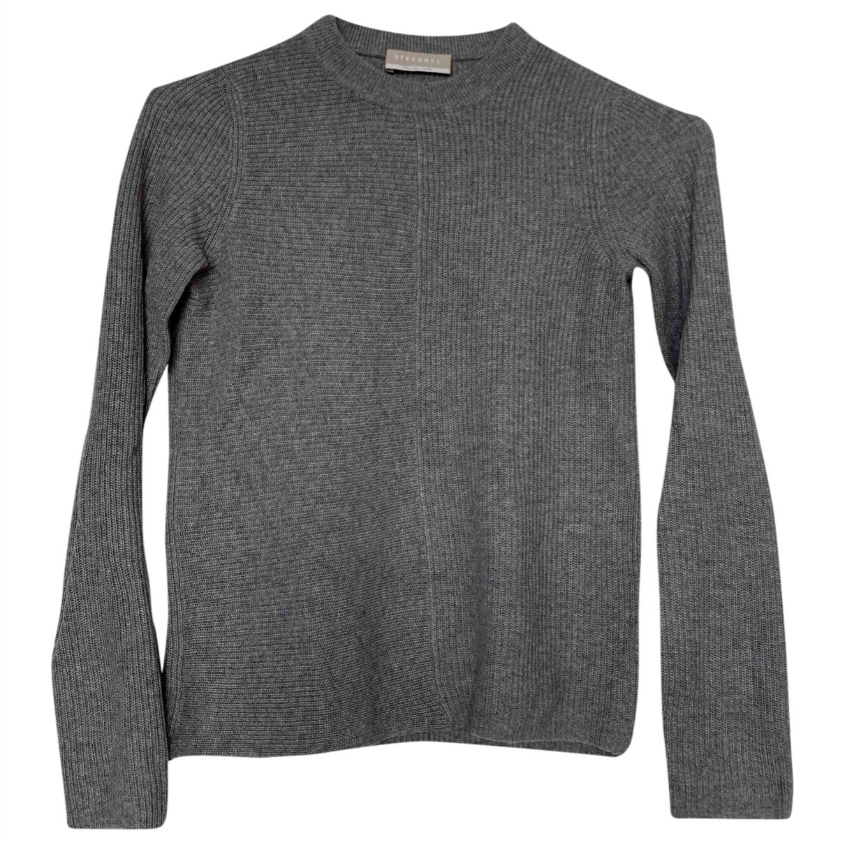 Non Signé / Unsigned \N Grey Wool Knitwear for Women 6 UK