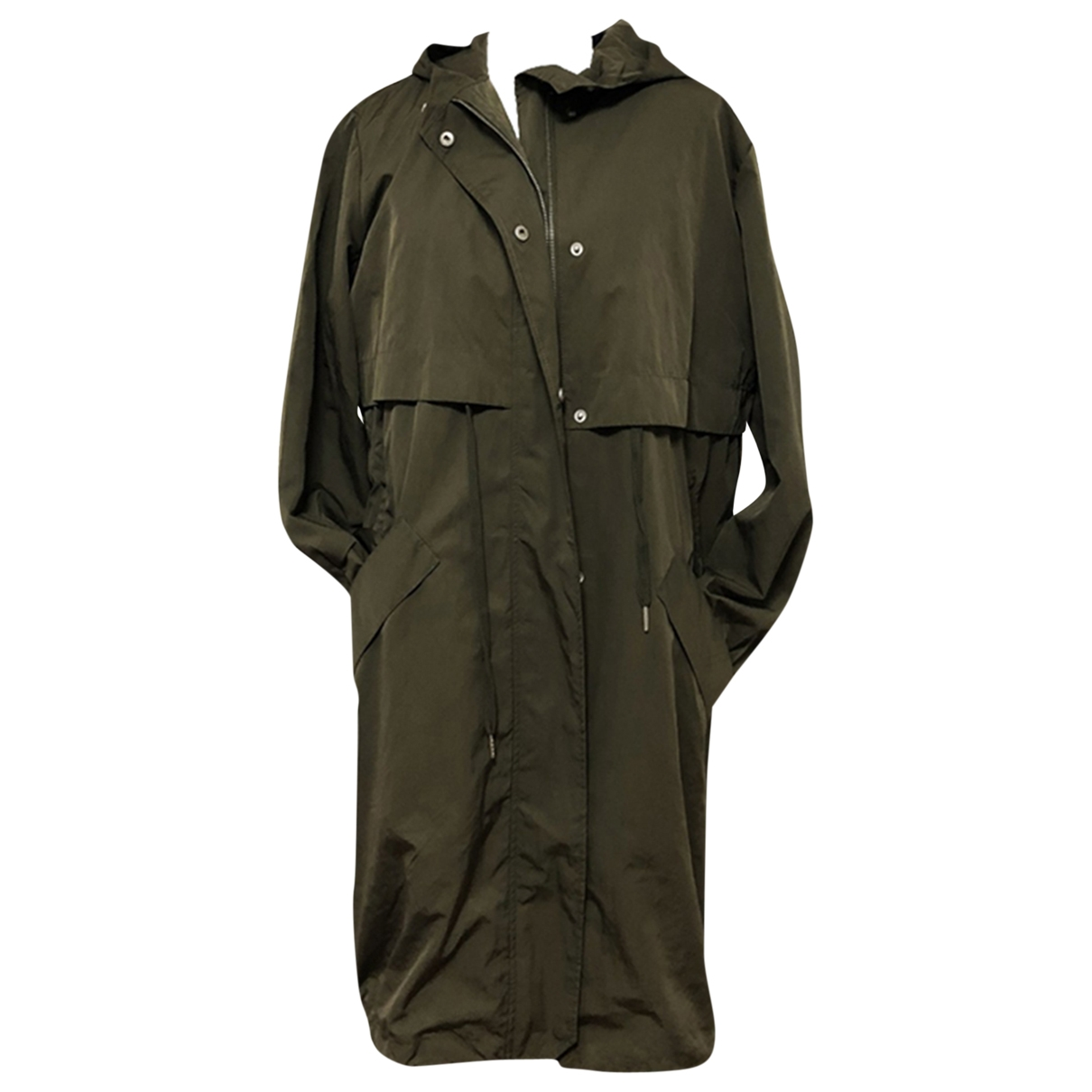 Eleven Paris \N Trench in  Khaki Polyester