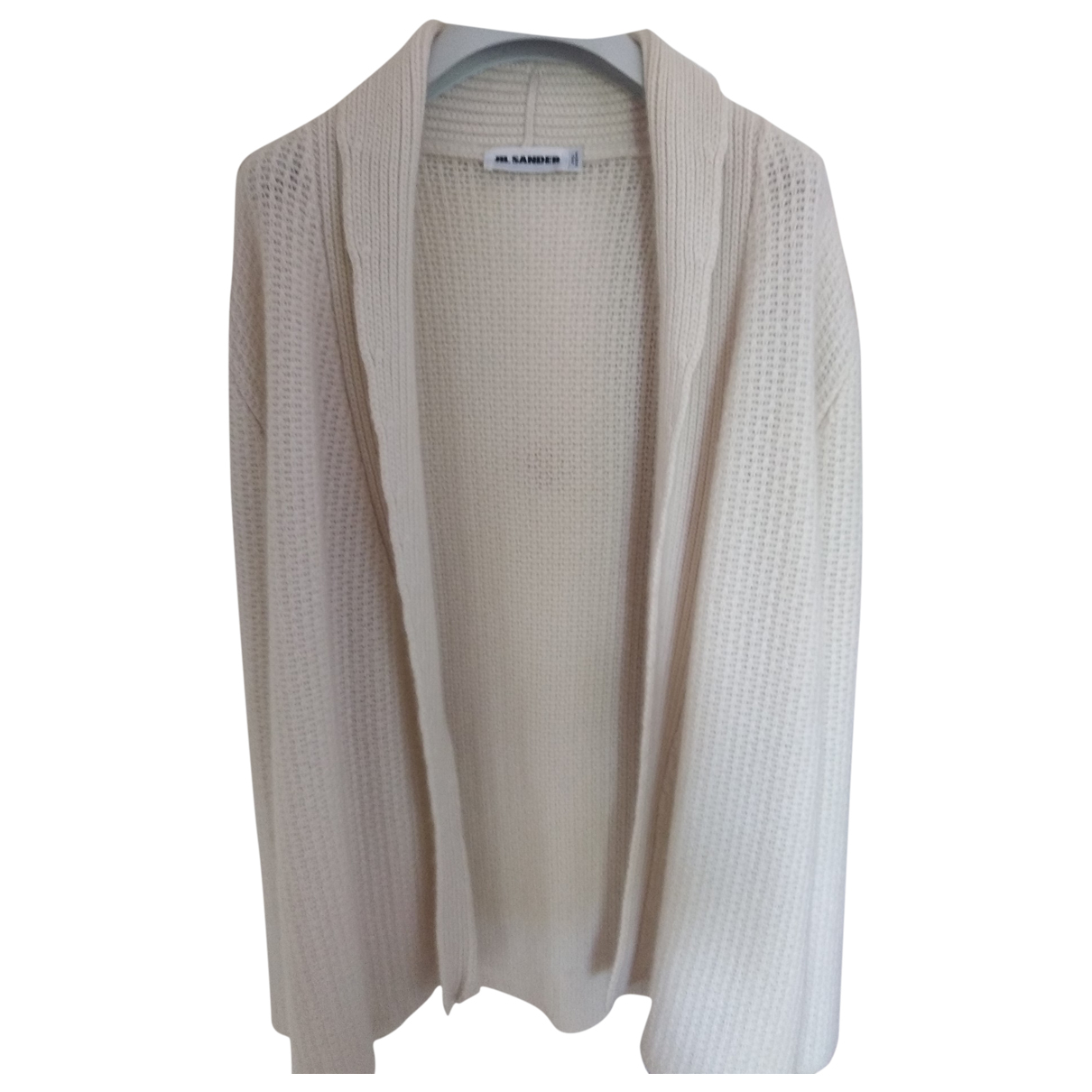 Jil Sander \N Pullover in  Weiss Wolle