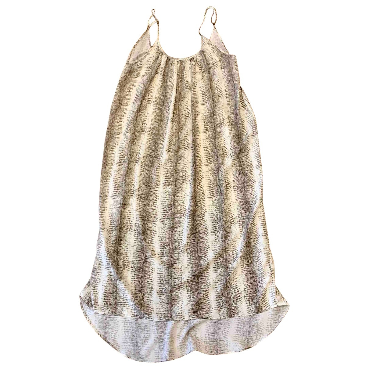 Melissa Odabash \N Kleid in  Beige Polyester