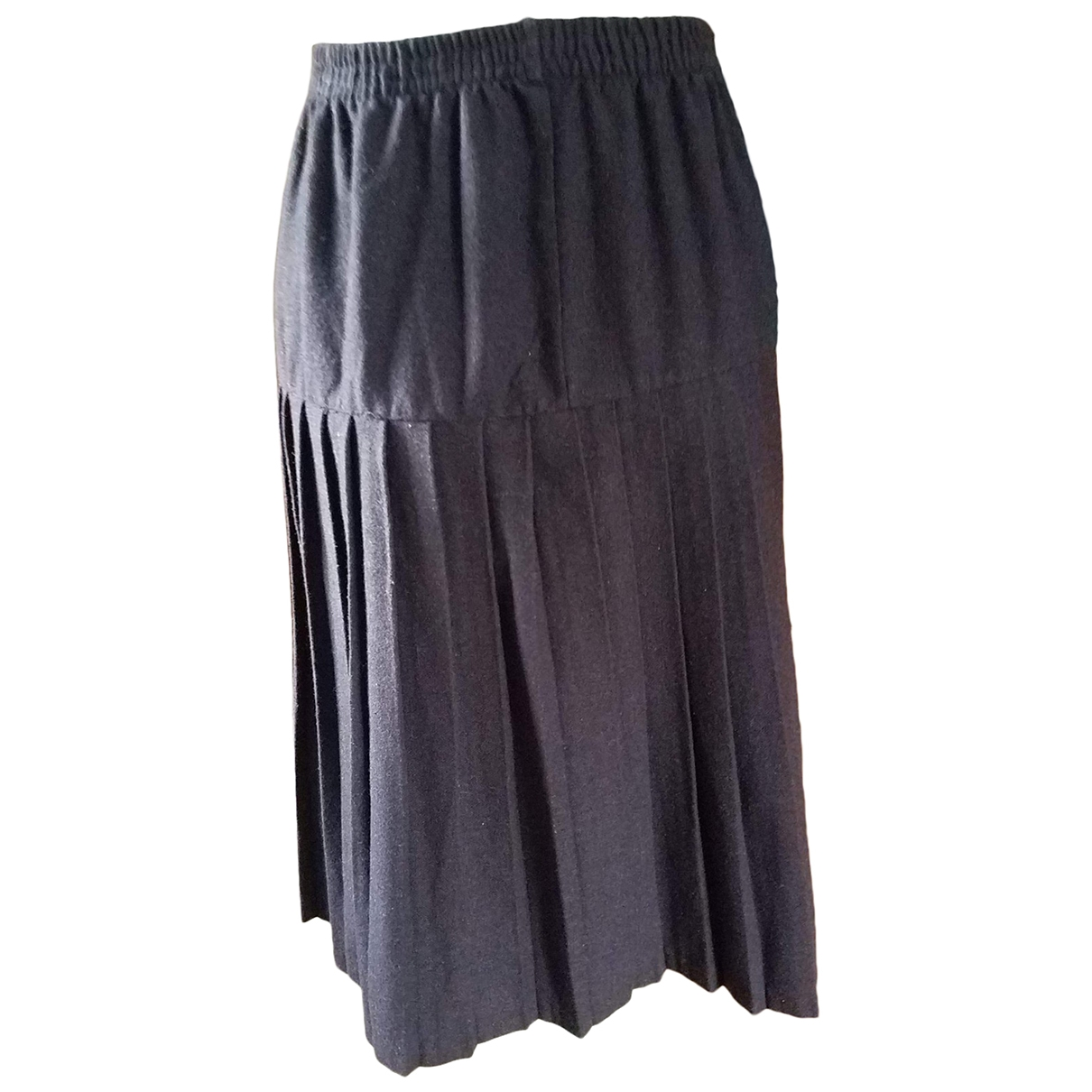 Non Signé / Unsigned \N Purple Wool skirt for Women 44 FR
