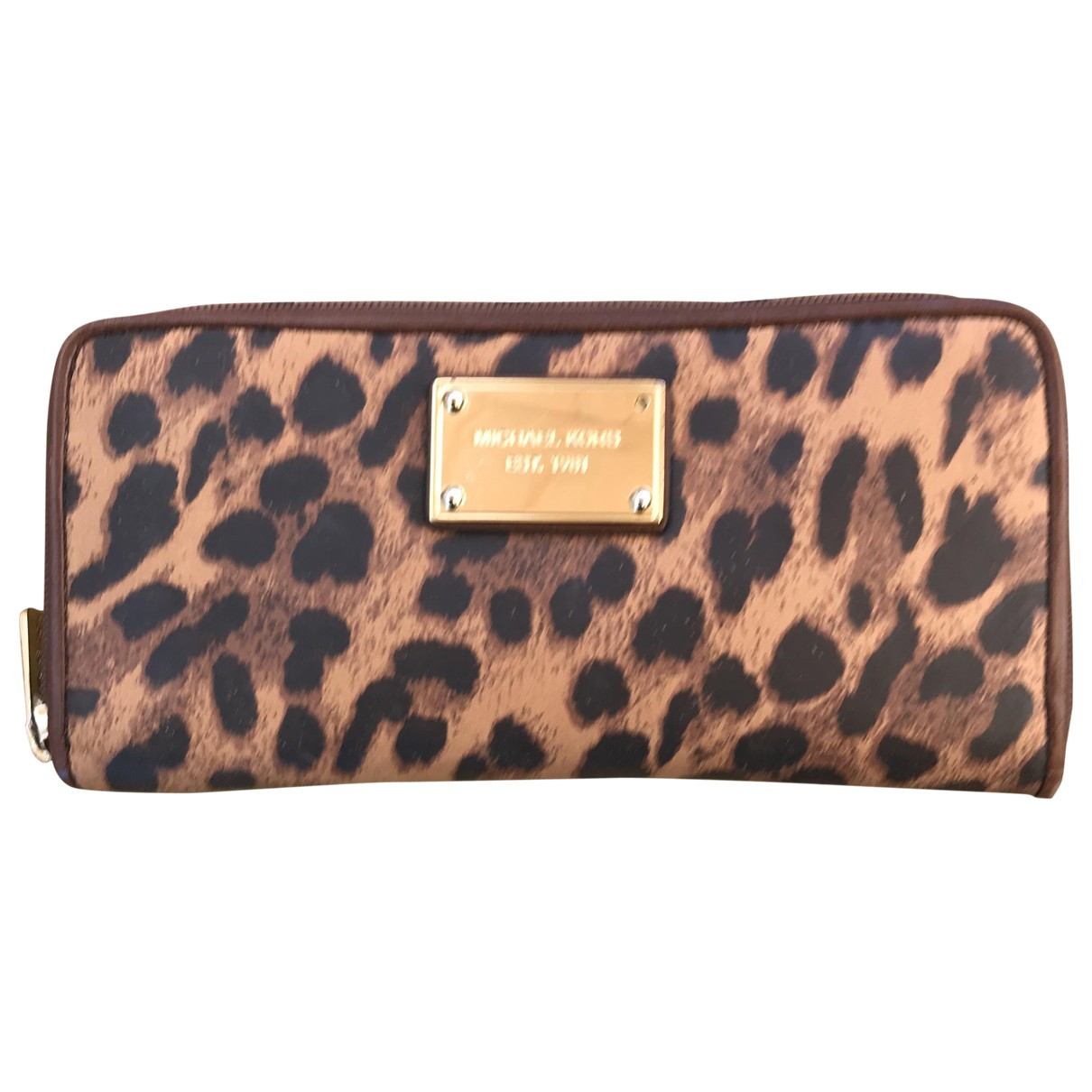 Michael Kors \N Brown Leather Purses, wallet & cases for Women \N