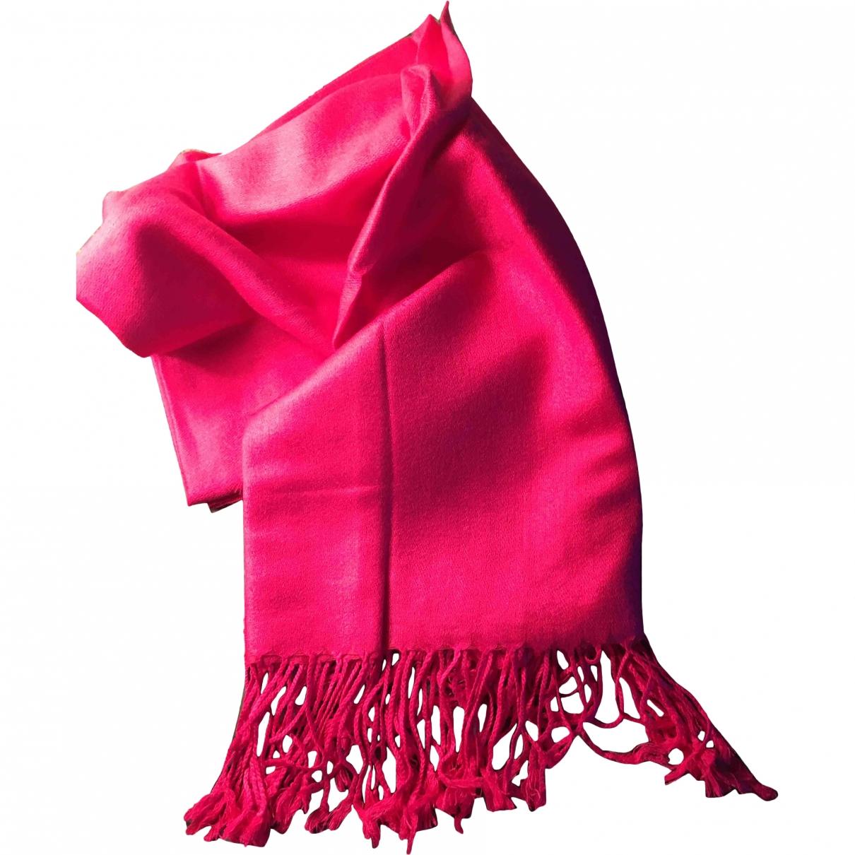 - Foulard   pour femme en laine - rose