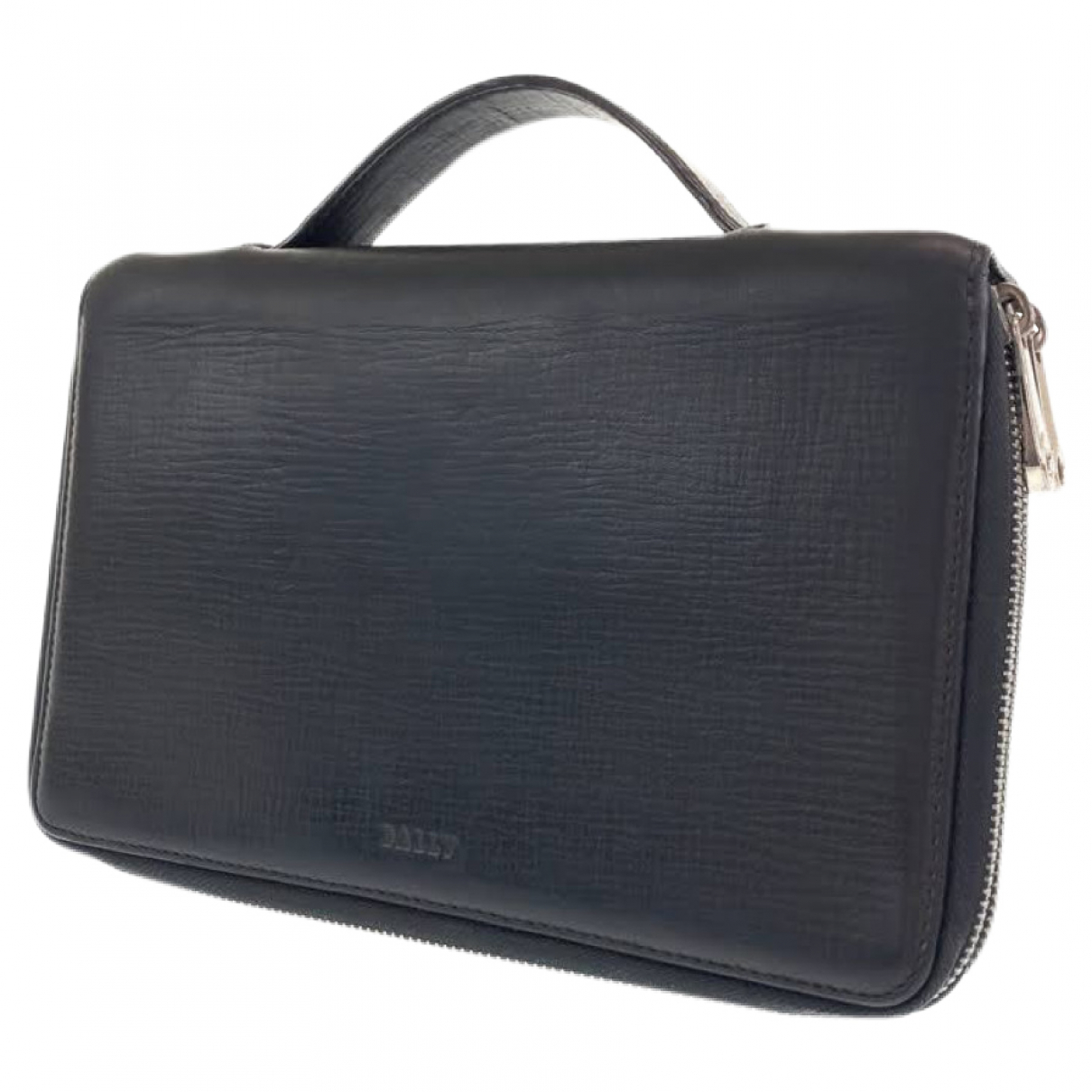 Bally \N Leather Small bag, wallet & cases for Men \N