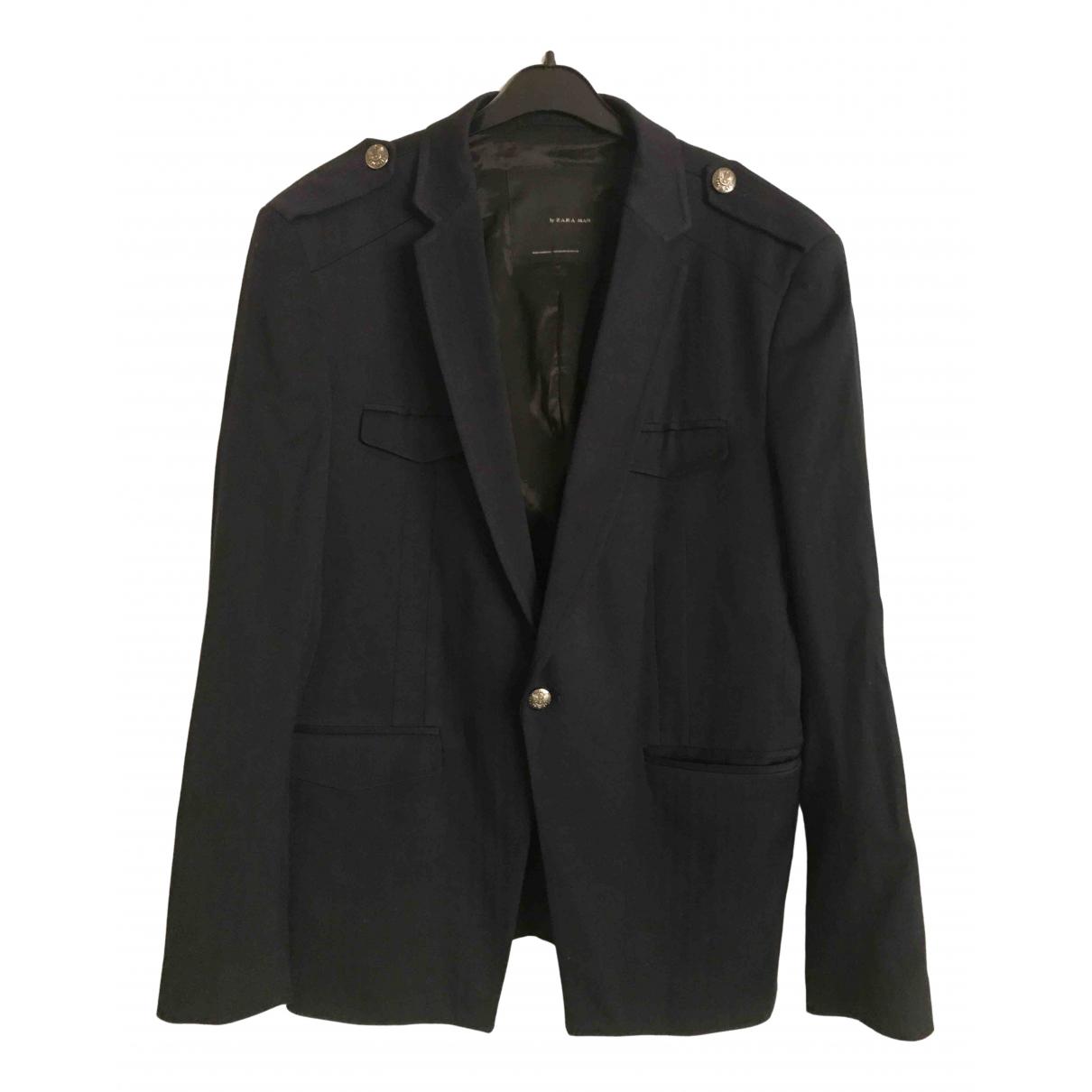 Zara \N Navy jacket  for Men 52 FR