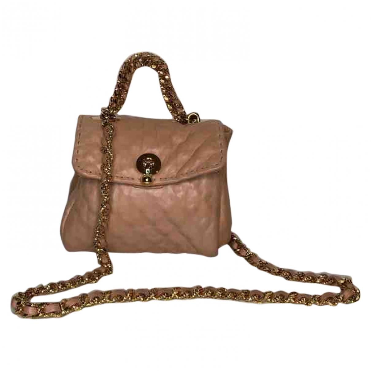 Ermanno Scervino \N Handtasche in  Beige Leder