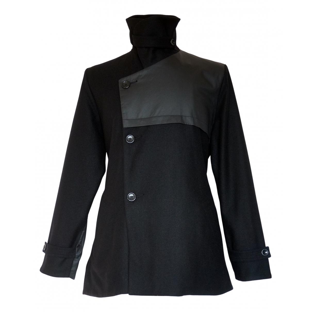 Henrik Vibskov - Manteau   pour homme en laine - noir