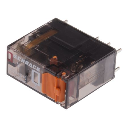 TE Connectivity , 115V dc Coil Non-Latching Relay SPDT, 16A Switching Current PCB Mount Single Pole