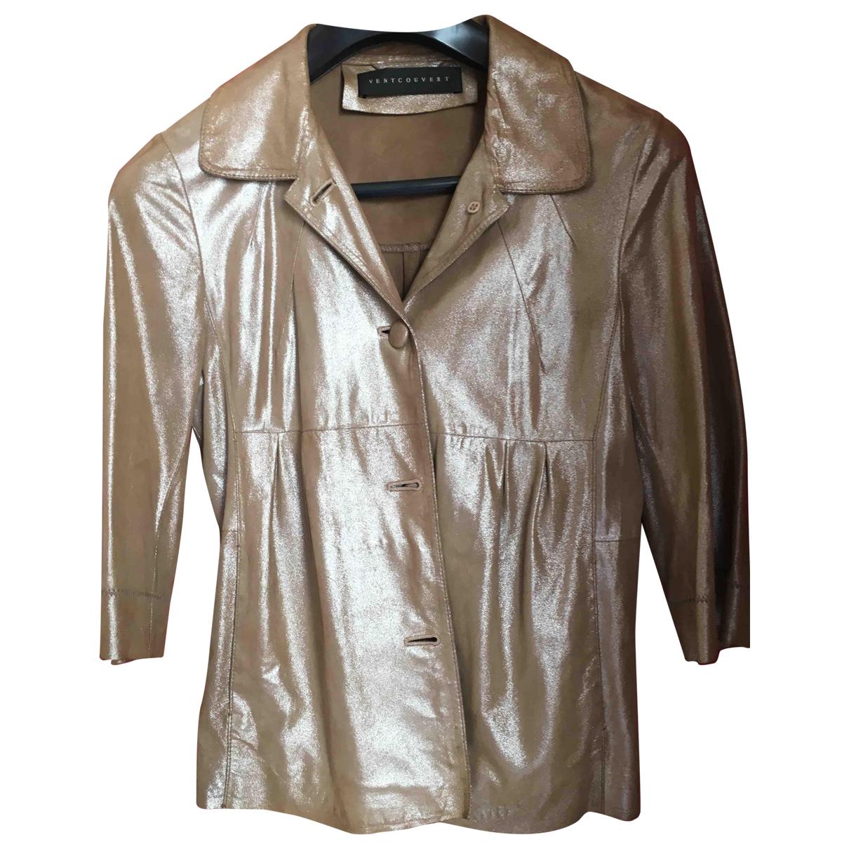 Ventcouvert - Veste   pour femme en cuir