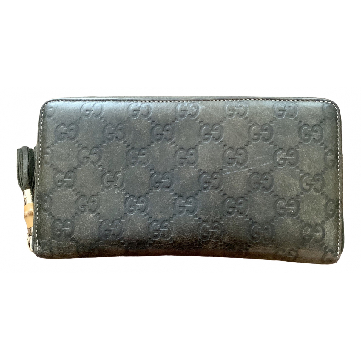 Gucci Continental Green Leather wallet for Women \N