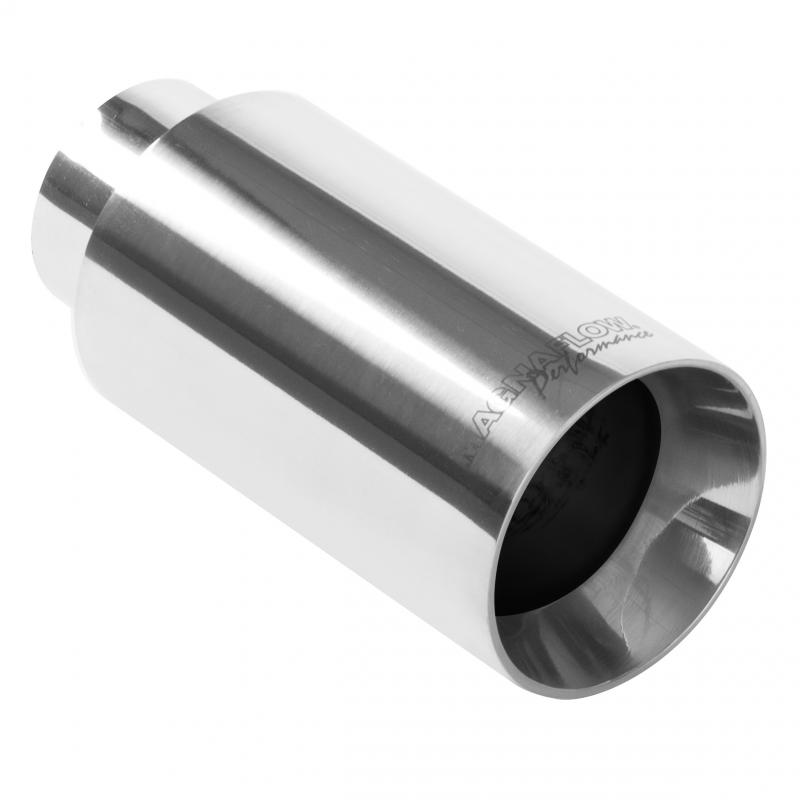 MagnaFlow 35125 Exhaust Products Single Exhaust Tip - 2.25in. Inlet/3.5in. Outlet