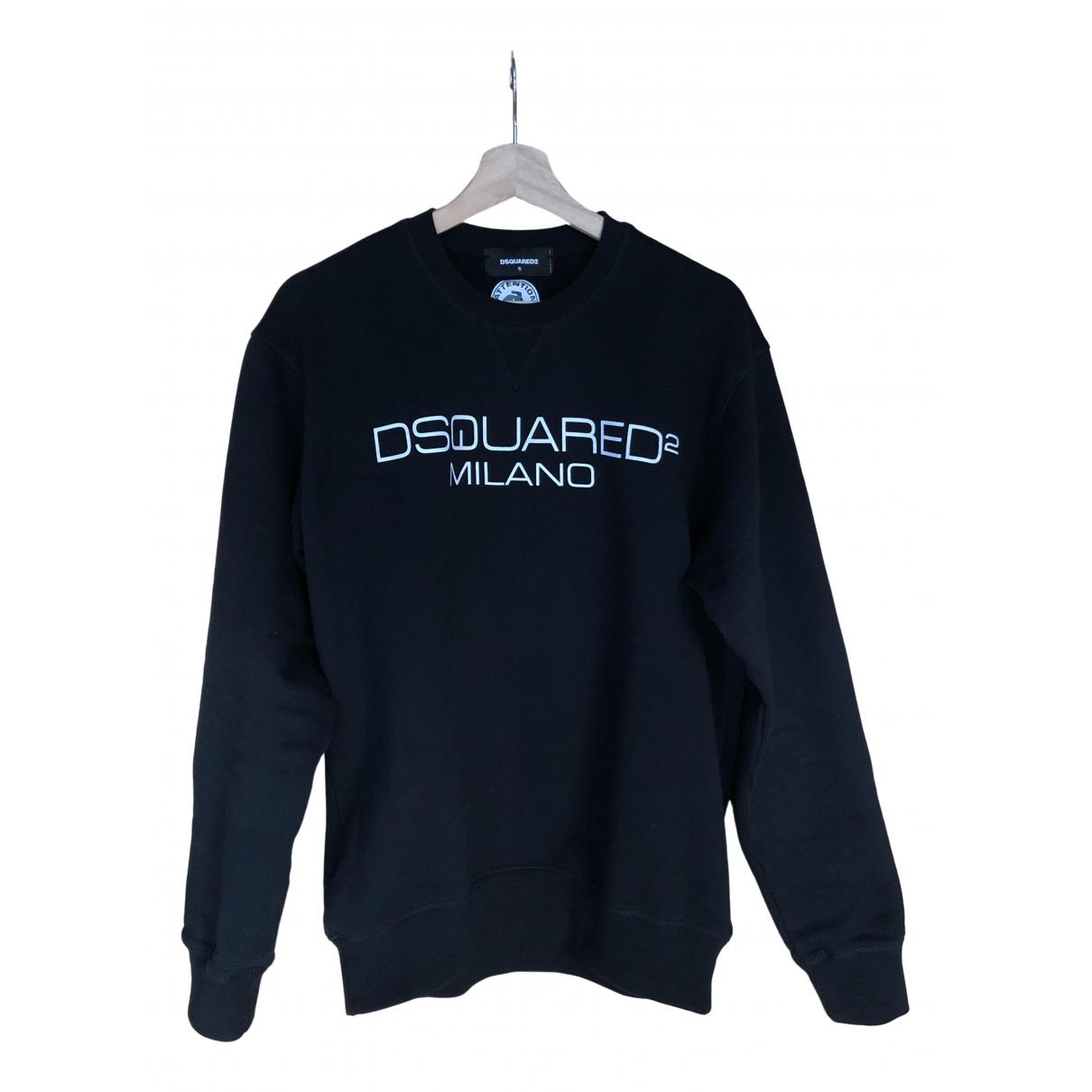 Dsquared2 \N Black Cotton Knitwear & Sweatshirts for Men S International