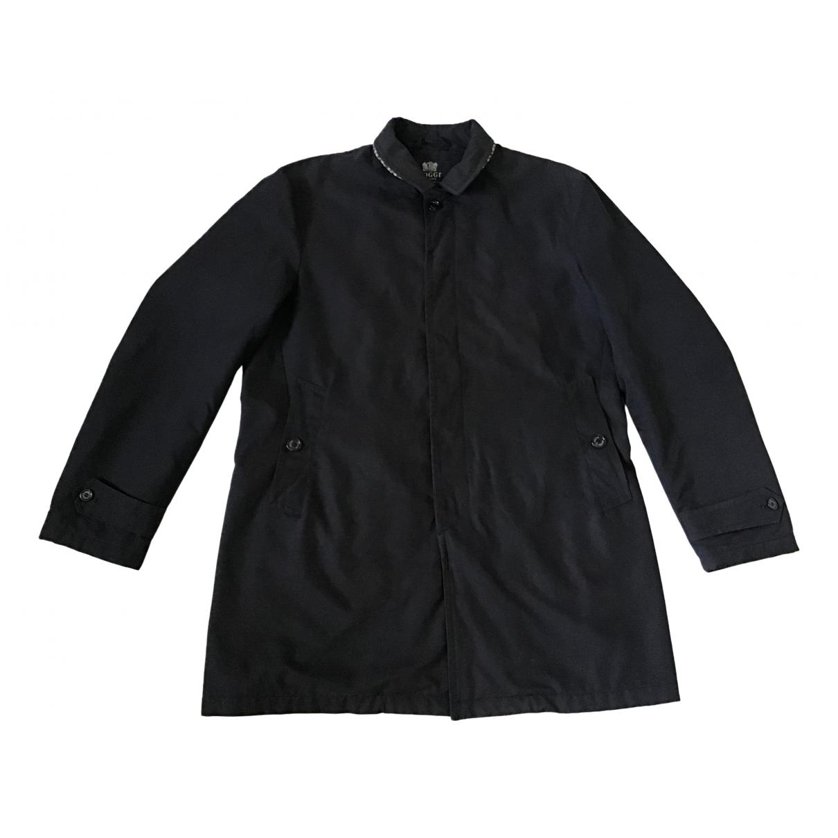 Boggi \N Blue Wool jacket  for Men 56 IT