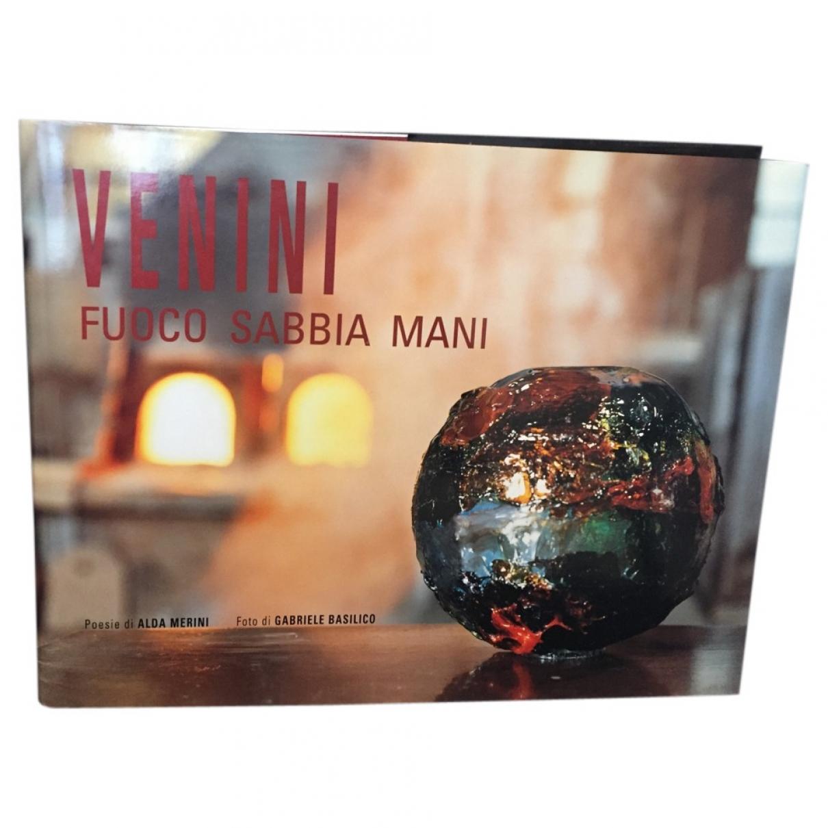 Venini - Art   pour lifestyle en bois - multicolore
