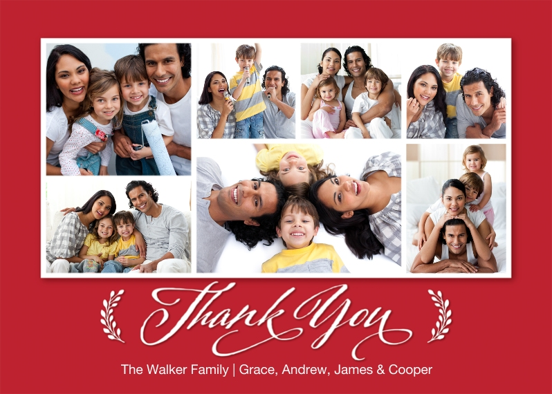 Thank You Cards 5x7 Cards, Premium Cardstock 120lb, Card & Stationery -Thank You Branches