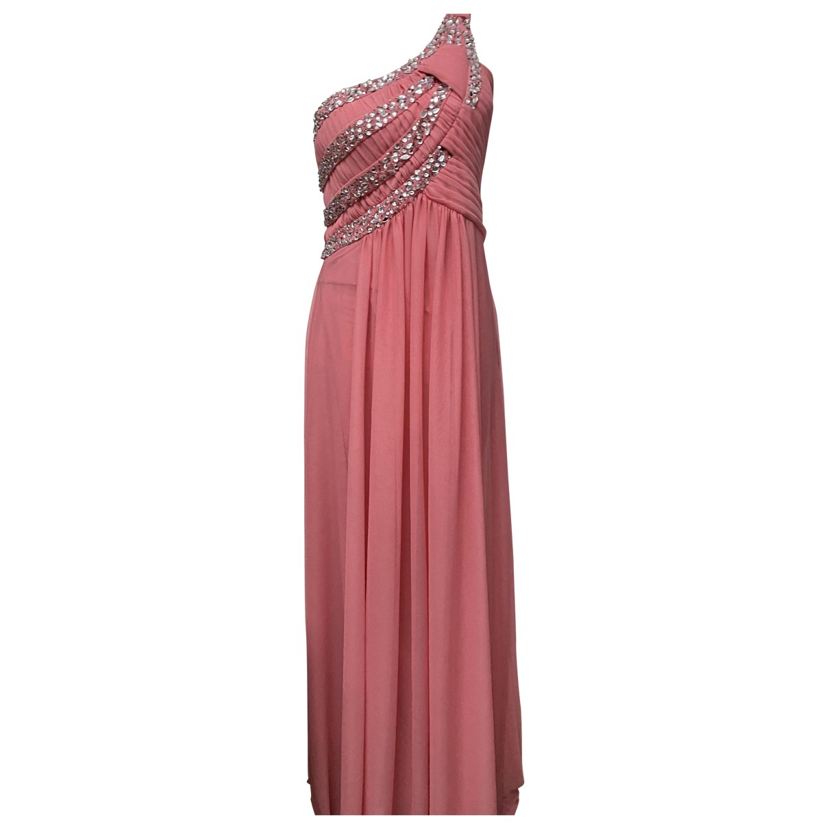 Atelier Parisien \N Kleid in  Rosa Viskose