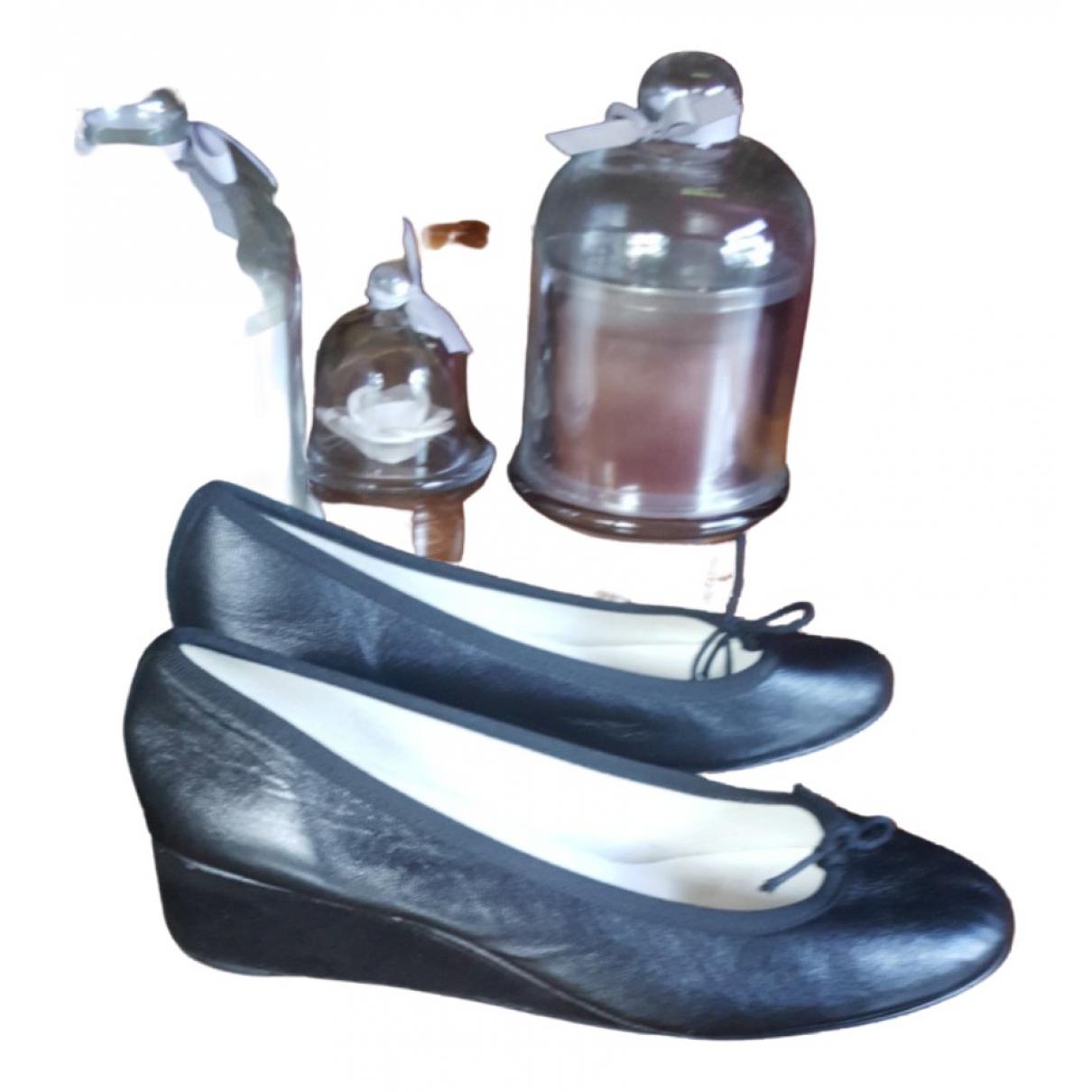 Repetto - Escarpins   pour femme en cuir - noir