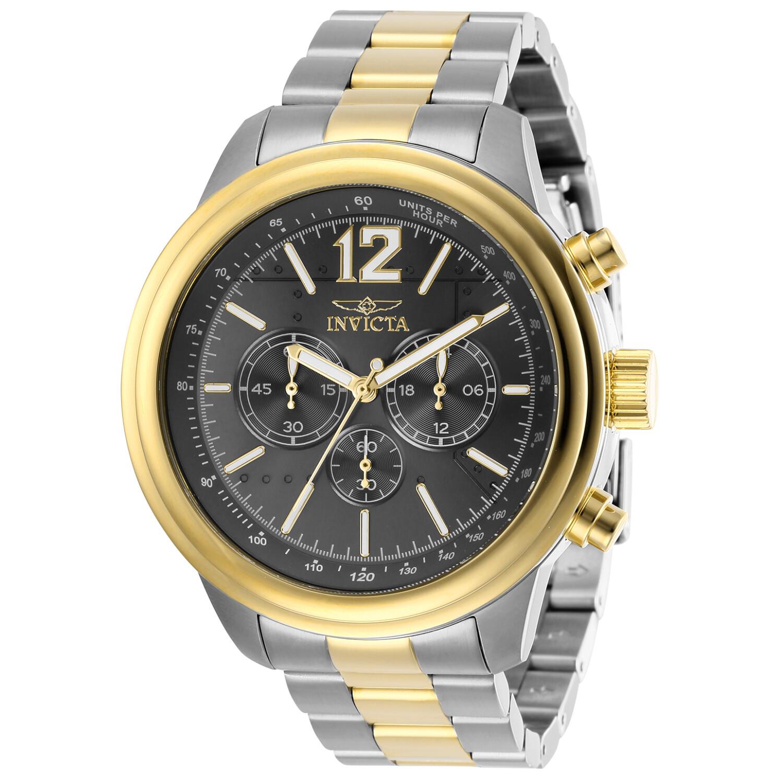 Invicta Men's Aviator 28901 Silver Stainless-Steel Quartz Dress Watch