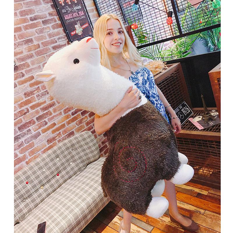 Cartoon Alpaca Plush Doll Soft Animal Toys Kids Birthday Gift