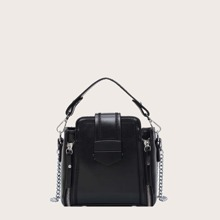 Bolsa cartera con puntada
