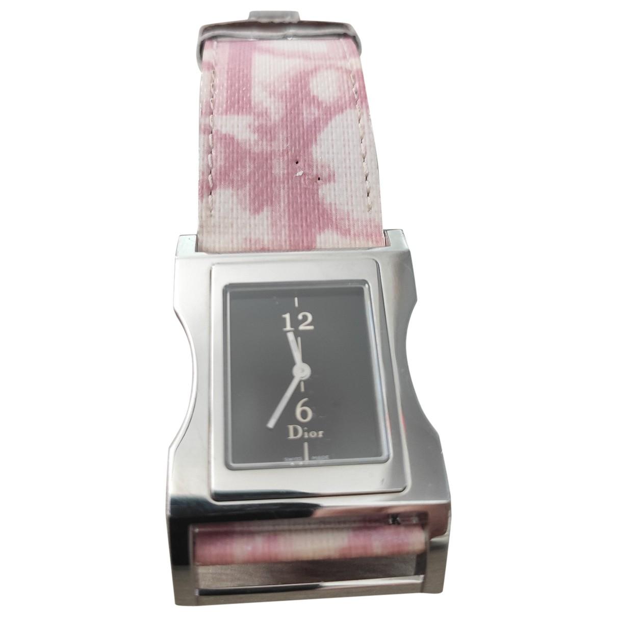 Dior \N Uhr in  Silber Stahl