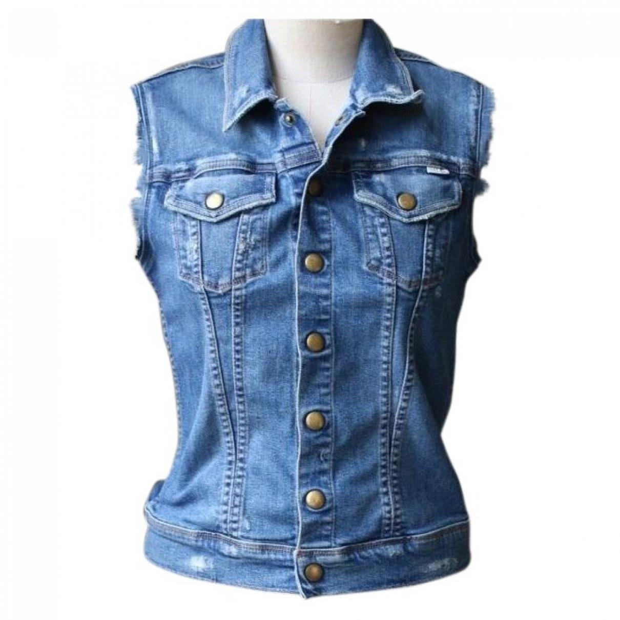 Mother \N Jacke in  Blau Denim - Jeans