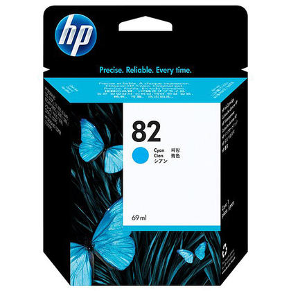 HP 82 C4911A Original Cyan Ink Cartridge