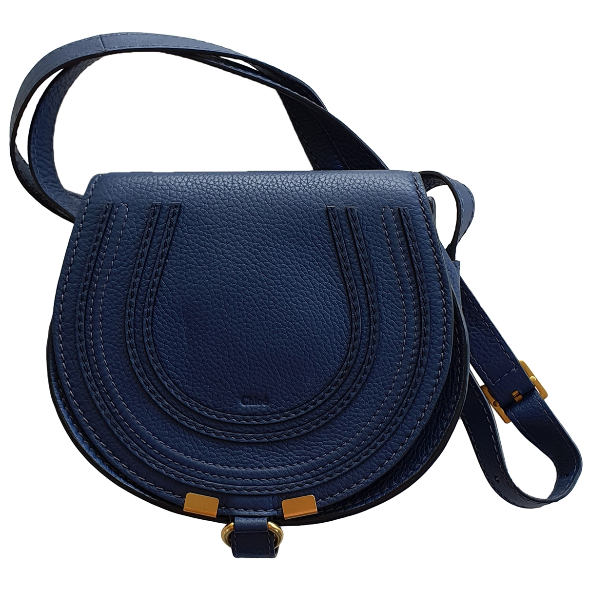 Chloé Marcie Blue Leather handbag for Women \N