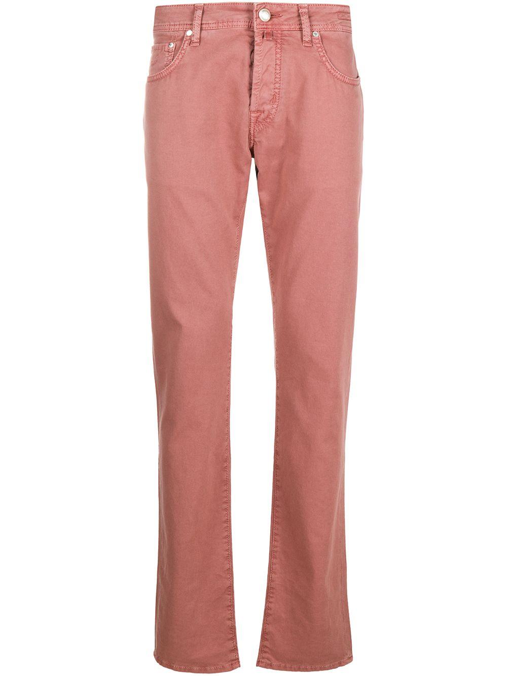 20 Pockets Cotton Jeans