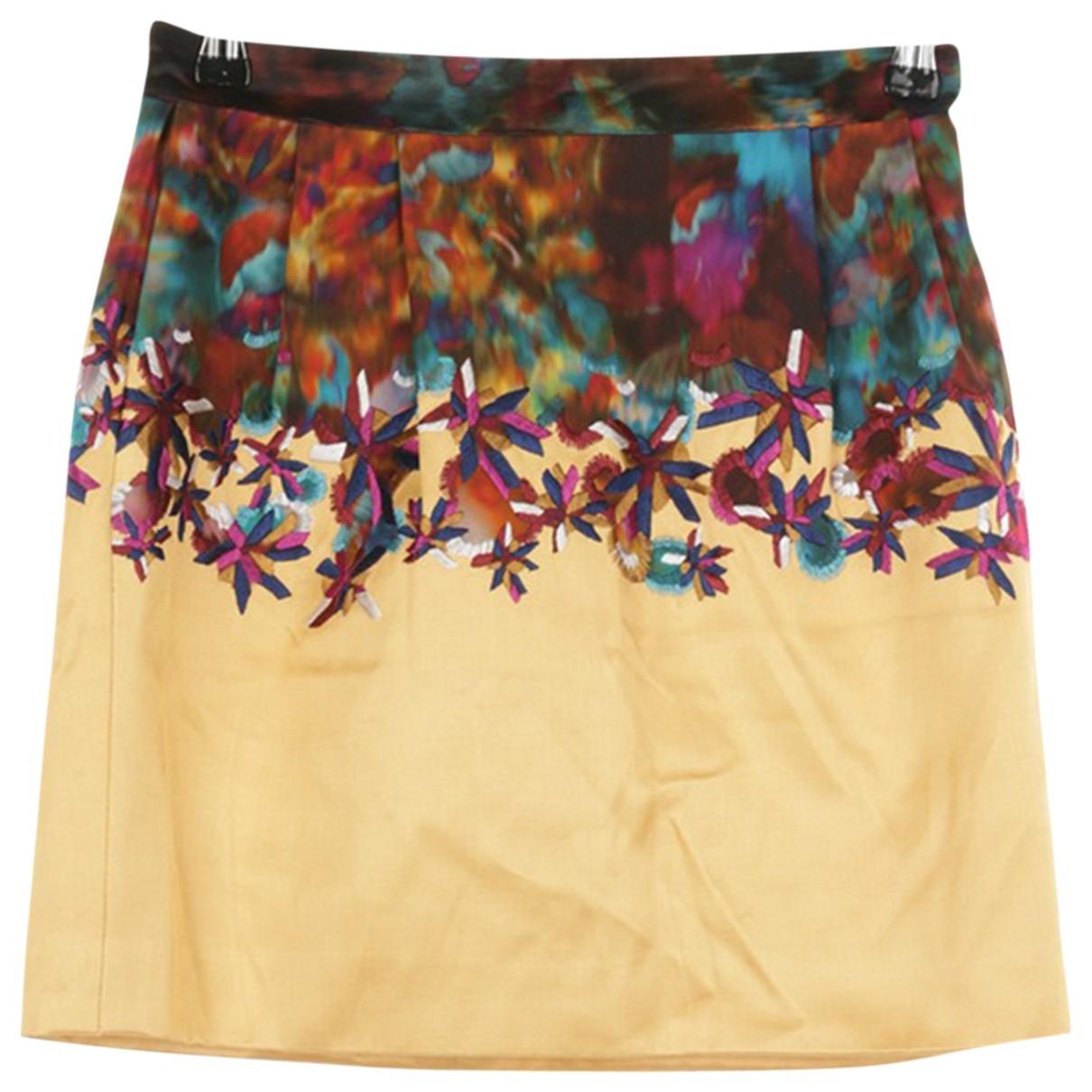 Erdem - Jupe   pour femme en soie - multicolore
