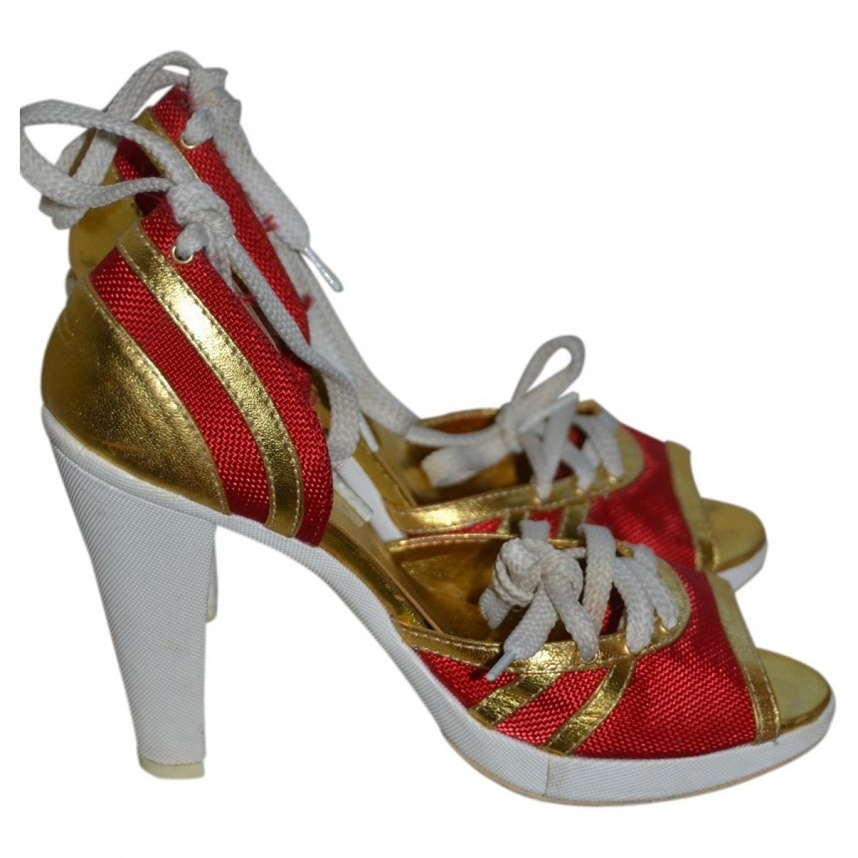 Just Cavalli \N Multicolour Cloth Heels for Women 36 EU