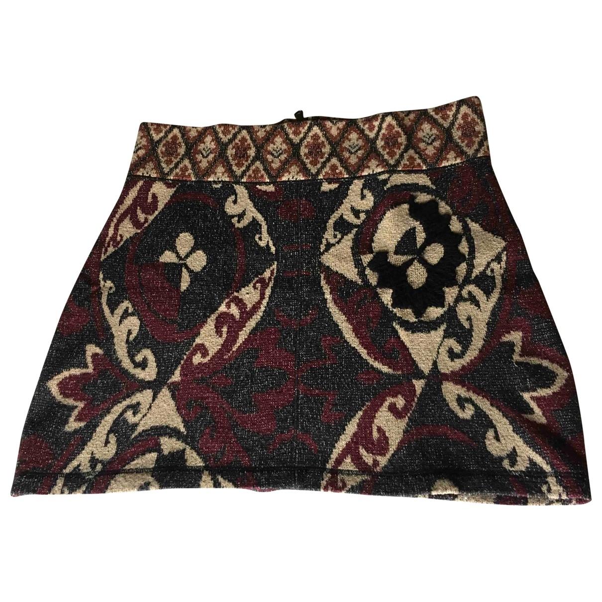 Maison Olga \N Multicolour Cotton skirt for Women 1 0-5
