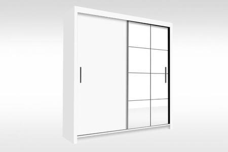 Peso Collection PESO79WHITE Closet in White
