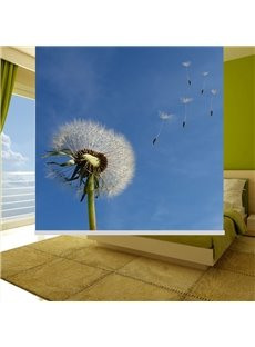 Wonderful Dandelion Printing Blackout 3D Roller Shades