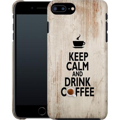 Apple iPhone 8 Plus Smartphone Huelle - Drink Coffee von caseable Designs