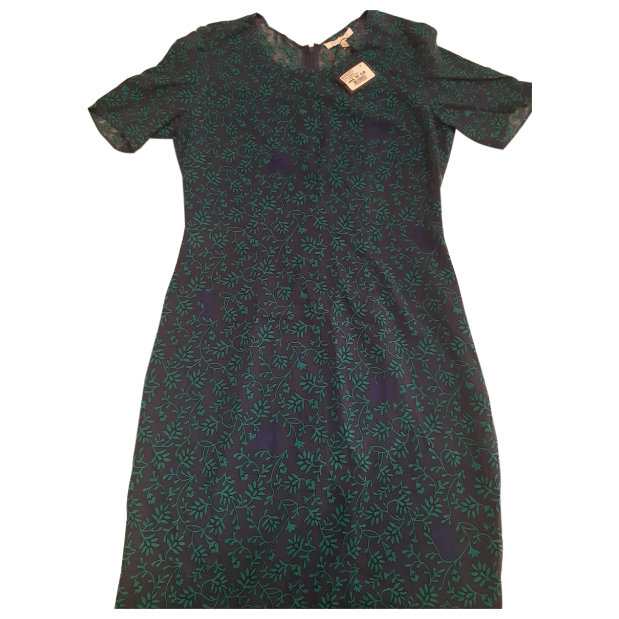 Non Signé / Unsigned \N Blue Silk dress for Women 38 FR